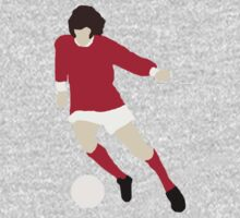 Minimalist George Best design One Piece - Long Sleeve