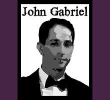John Gabriel on Royal Purple Unisex T-Shirt