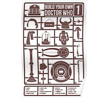 Build Your Own Doctor Who 1 Poster