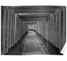 A thousand torii gates Poster