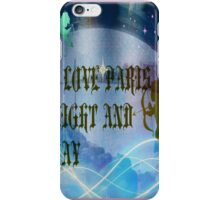 I LOVE PARIS NIGHT AND DAY iPhone Case/Skin