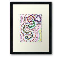 Color Formations Framed Print
