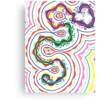 Color Formations Canvas Print