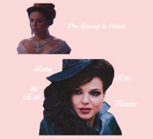 The Queen is Dead (dark) Baby Tee