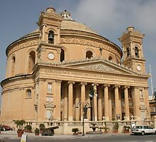 The Mosta Dome by Debby Chadwick