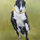 Bartleby the Borzoi by Charlotte Yealey