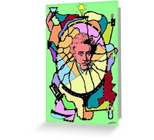 Soren Kierkegaard Greeting Card