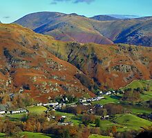 Chapel Stile from Lingmoor Fell by Mark Haynes Photography