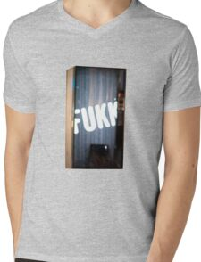 Fukk vending machine from Max Barry's Syrup Mens V-Neck T-Shirt