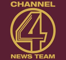 Channel 4 News Team Shirt by typeo