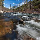 White Hall - South Fork American River by Richard Thelen