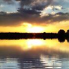 sunset reflections-ipad by angeldragon069
