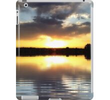 sunset reflections-ipad iPad Case/Skin