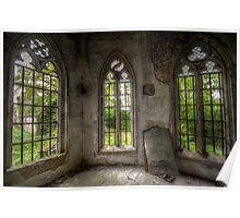 chapel in abandoned castle Poster