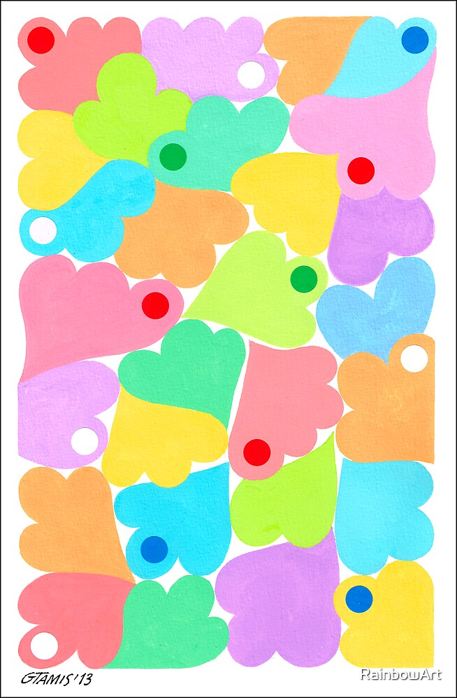 PASTEL COLORS ART by RainbowArt