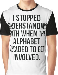 Alphabet Graphic T-Shirt