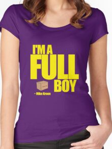 I'M A FULL BOY! Women's Fitted Scoop T-Shirt