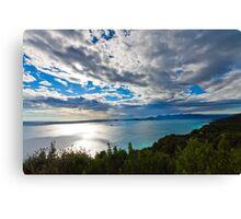 Cinque terre, Liguria landscape  Canvas Print
