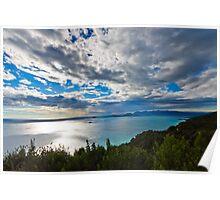 Cinque terre, Liguria landscape  Poster