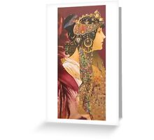 The Dark Queen Greeting Card