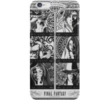 Final Fantasy Jobs Geek Art Poster iPhone Case/Skin
