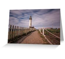 Pigeon Point Lighthouse I Greeting Card