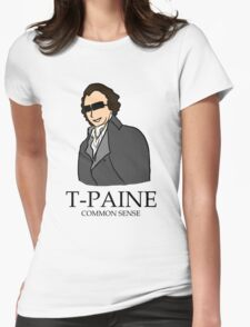 T-Paine & Common Sense Womens Fitted T-Shirt