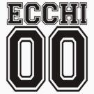 Ecchi Jersey - Black Collegiate by hunnydoll