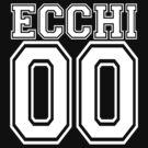 Ecchi Jersey - White Collegiate by hunnydoll