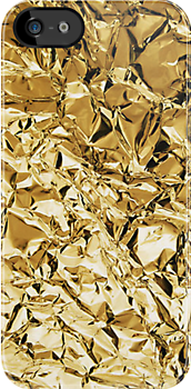 Gold Wrapper Iphone by DCPRODUCTION