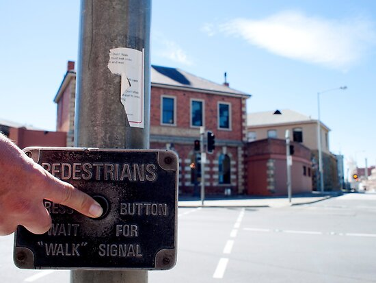 instructions for pedestrians by kchamula