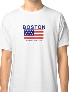 Boston Msaeachubaets Classic T-Shirt
