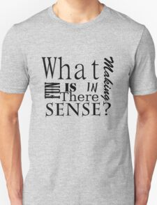 Whats the fun in making sense? T-Shirt