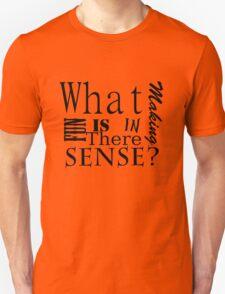 Whats the fun in making sense? T-Shirt