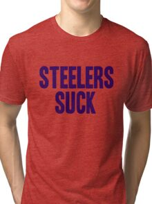Baltimore Ravens - Steelers suck Tri-blend T-Shirt