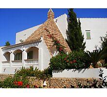 A House In Cala Galdana Photographic Print