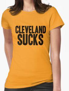 Cincinnati Bengals - Cleveland Sucks Womens Fitted T-Shirt