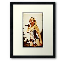 Slasher by Aquinas Framed Print