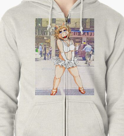 The Seven Year Pig Zipped Hoodie