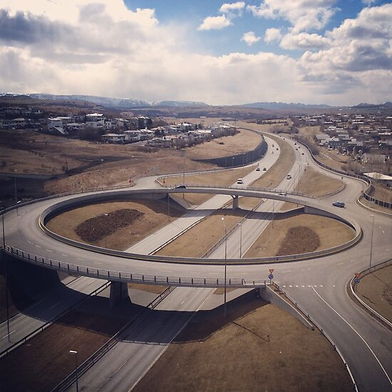 traffic bridge by Aron  Berndsen
