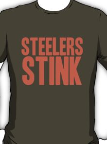 Cleveland Browns - Steelers stink - orange T-Shirt