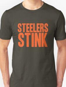 Cleveland Browns - Steelers stink - orange Unisex T-Shirt