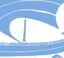 Ship (blue)  Sticker