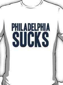 Dallas Cowboys - Philadelphia sucks - blue T-Shirt