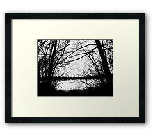 Crown Hill Pond Framed Print