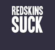 Dallas Cowboys - Redskins suck - white Unisex T-Shirt
