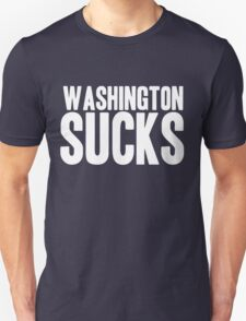 Dallas Cowboys - Washington Sucks - White Unisex T-Shirt