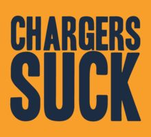 Denver Broncos - Chargers Suck - blue by MOHAWK99