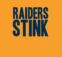 Denver Broncos - Oakland Raiders stink - blue Unisex T-Shirt