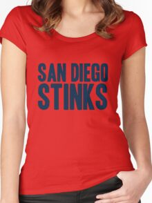 Denver Broncos - San Diego Stinks Women's Fitted Scoop T-Shirt